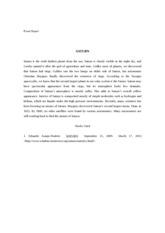Essay planet saturn