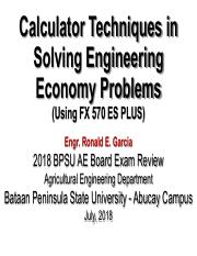 Engineering Economy Review (Calculator Techniques)_Lec 3.pdf