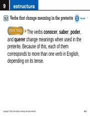 Change meaning Preterite.ppt