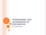 Friendship+and+Aggression+in+Childhood