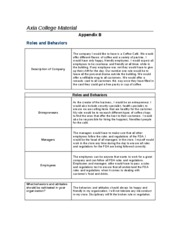 bus210_appendix_b Roles and Behaviors