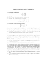 Math121 Discussion - 5th week