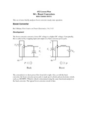 04 - Boost Converters