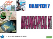 Chapter07-Monopoly