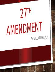 27th Amendment