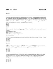 Final_Exam_FIN_351_Version_B_Answers[1]