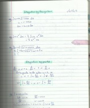 Integration by Recognition and Integration by Parts