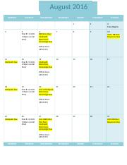 Course Calendar 09 sociology