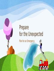 Emergency Plan - Aaron Green