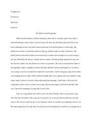 Music first paper