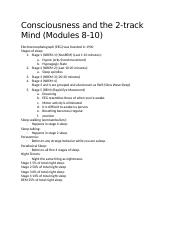 Consciousness and the 2 Track Mind.docx