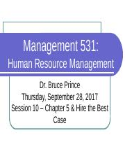 10-September 28-Chapter 5 & Hire the Best case.pptx