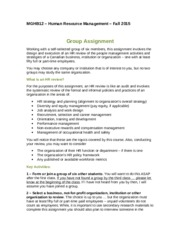 MGHB12 Fall 2015  Group Assignment