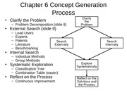 Concept Generation Process and concept selection  presentations-2