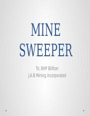 MINE SWEEPER.pptx