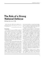 The Role of a Strong National Defense.pdf
