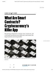 What Are Smart Contracts_ Cryptocurrency's Killer App _ Fast Company _ Business + Innovation