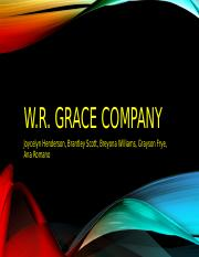 WR Grace Company copy