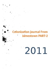 Colonization journal From Jamestown PART2