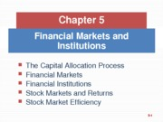 Finance Chapter 5