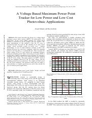 A-Voltage-Based-Maximum-Power-Point-Tracker-for-Low-Power-and-Low-Cost-Photovoltaic-Applications