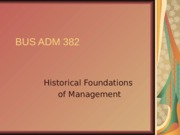 chapter+2+-+Historical+aspects+of+management