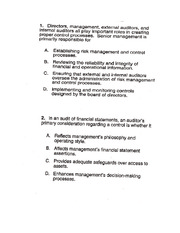 CH 10  CPA Adapted Questions
