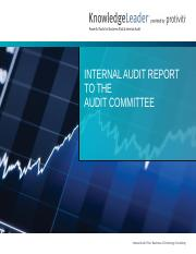 Internal Audit Report to the Audit Committee.pptx
