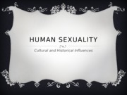 Human Sexuality Assignment 1