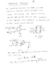 EE 3N03 Operational Amplifers 2 Notes