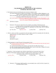 Module26 - Tax Remedies and Penalties.docx