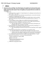 PSY 253 Exam 3 Study Guide.docx