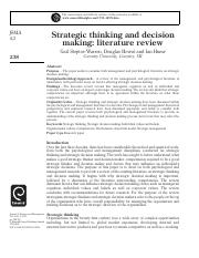 Strategic thinking and decision.pdf