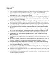 Article 2 Outline