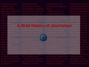 HISTORY OF JOURNALISM LECTURE 1v1.1