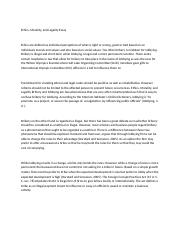 Integrity essay examples
