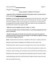 Copy_of_Literary_Analysis_Assignment_-_A_Soldier_For_The_Crown