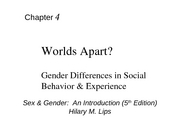 Psych 119 Chapter 4