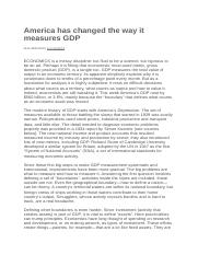 America has changed the way it measures GDP.docx