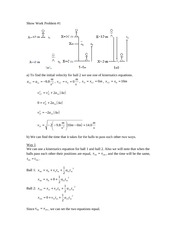PH 211 Fall 2007 Midterm 1 Workout_Problem_1