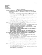 dante s inferno essay example In dante's inferno many allegorical connections exist example essays allegorical connections within dantes inferno philosophy essay.