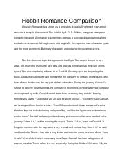 The Hobbit Essay.docx