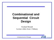 lecture 8- Combinational