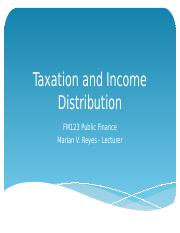 Chapter9_Taxation and Income Distribution