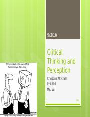 mitchellchristie_phi_105_Critical Thinking and Perception.pptx
