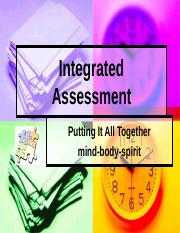 Integrated Assessment(1).ppt