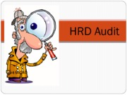 AUDIT IN HRD (Presentation)