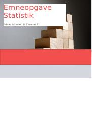 Complete notes on statistiks
