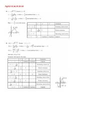 04 2015The 2nd Derivative test(another way to find relative extrema) worksheet