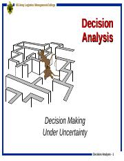 Decision Analysis.ppt